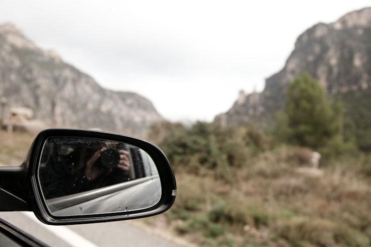 Rainy rest day drive through Catalunya