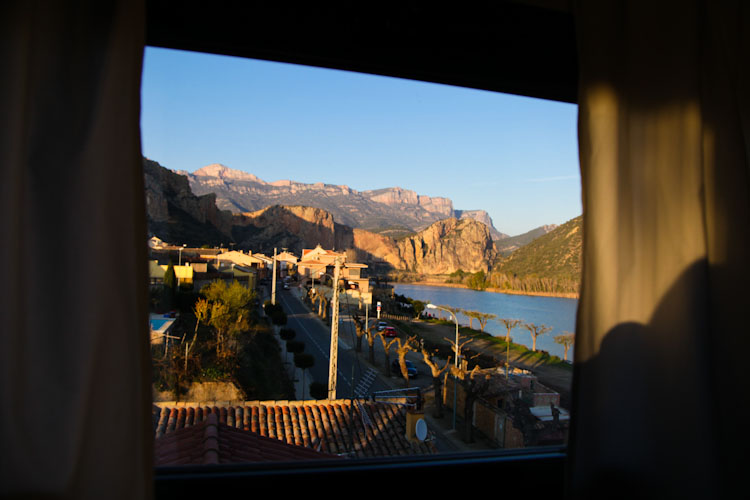Just another breathtaking view from out casita in Spain.