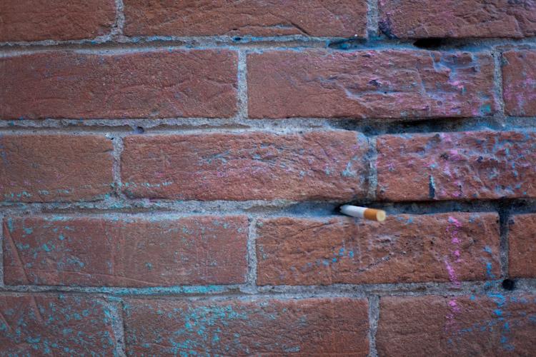 Cigarette holder.