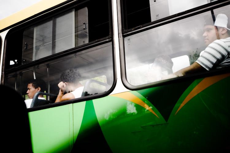 Bus in Brasilia.