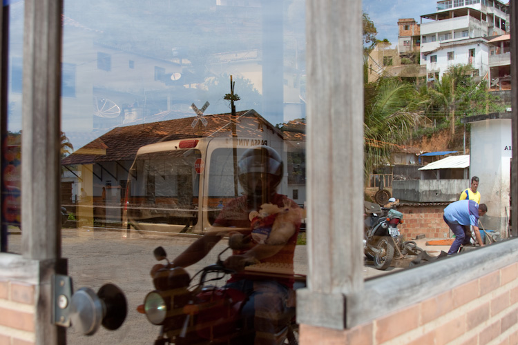 Reflections in Pasa Vinte, Brazil.