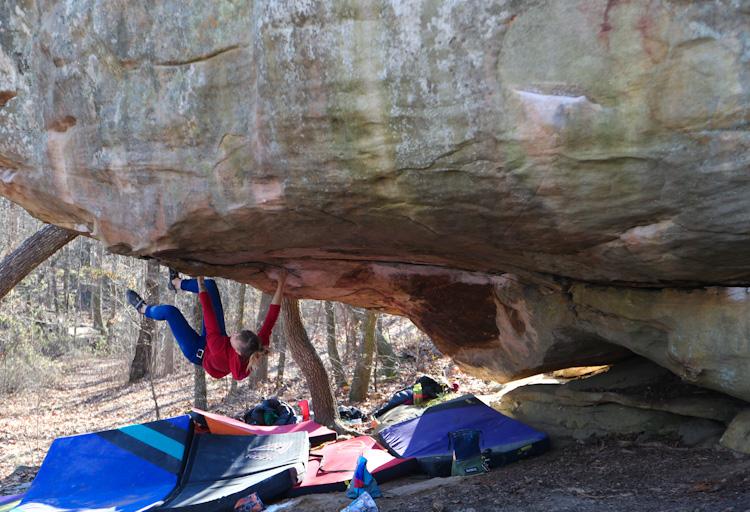Aleks gets horizontal in Horsepens 40, AL