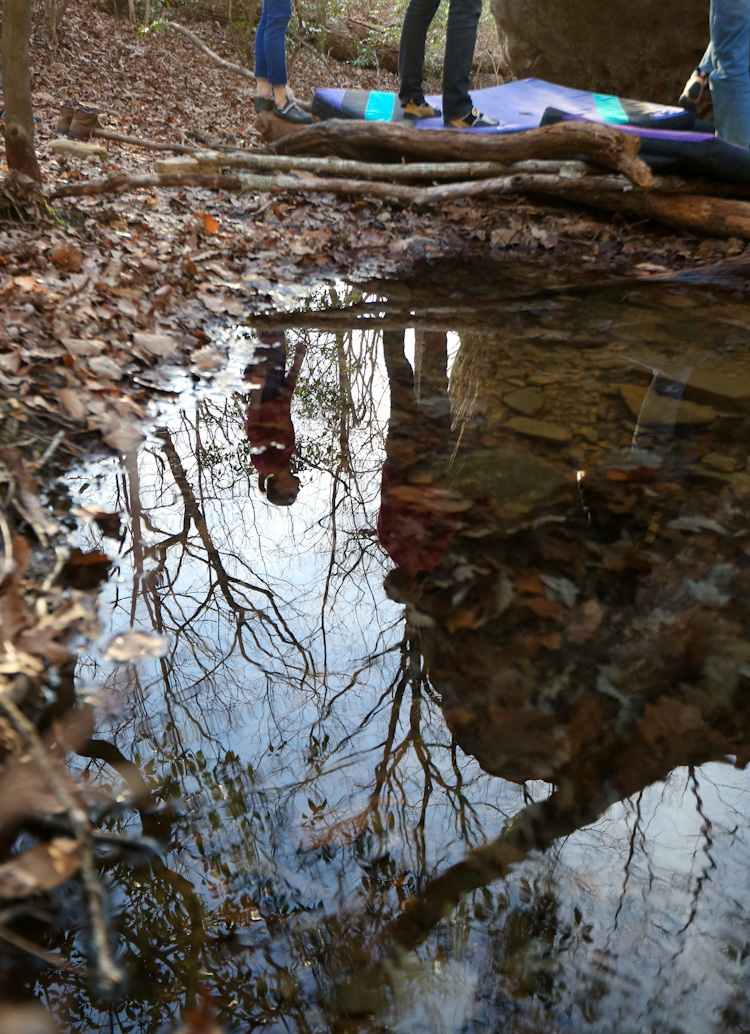Reflection at Rocktown, GA