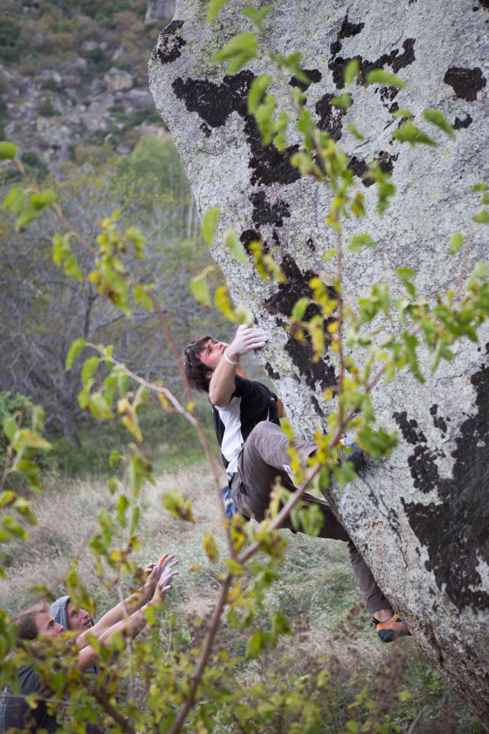 Climber in Prilep Macedonia.